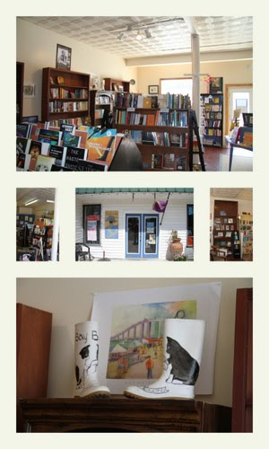 Book Store located on Main Street in Bay Saint Louis, Mississippi