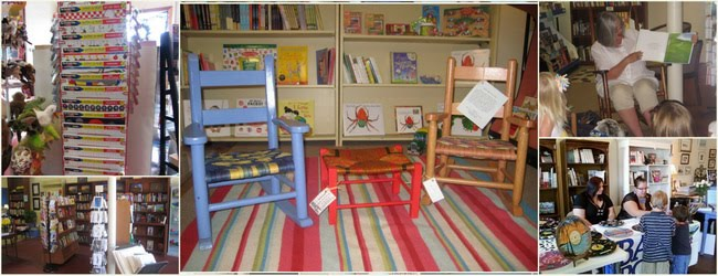 Bay Books offers books, childrens books, book signings, and a great shop to browse for gifts.
