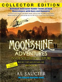 Moonshine Adventures Bay Books Book Signing Al Saucier