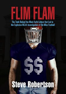 Flim Flam The Truth Behind the Blind-Faith Culture that Led to the Explosive NCAA Investigation of Ole Miss Football Book Signing Bay St Louis MS Mississippi